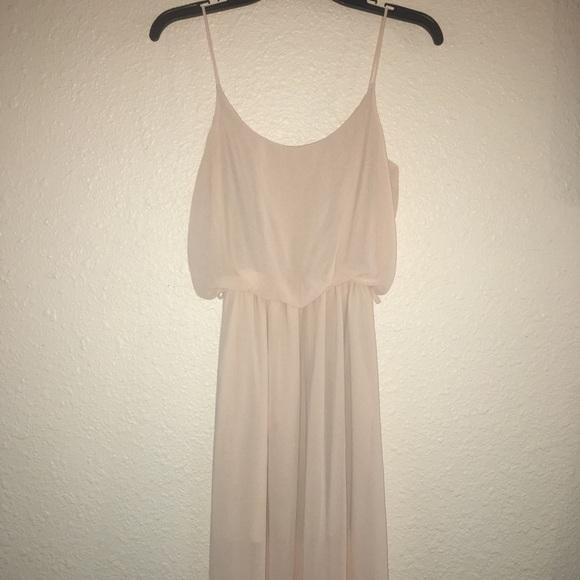 a'gaci Dresses & Skirts - ⚠️ Agaci blush creme Maxi Dress